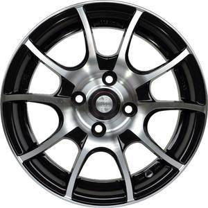 Легкосплавные диски Racing Wheels H-470 BK-F/P 6.0/4x108/Rd67.1 — фото