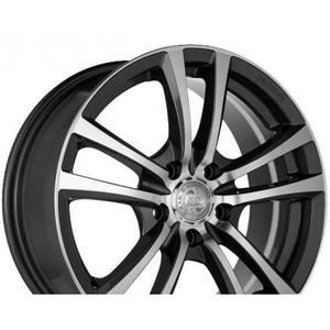 Легкосплавные диски Racing Wheels H-346 GM-F/P 6.5/5x112/Rd66.6 — фото