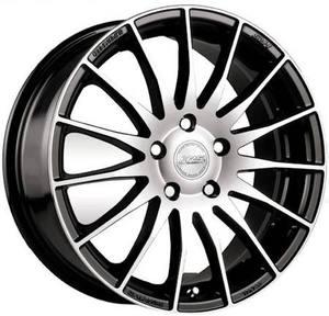Легкосплавные диски Racing Wheels H-428 BK-F/P 6.5/5x112/Rd66.6a — фото