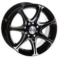 Легкосплавные диски Racing Wheels H-134 BK-F/P 6.5/5x114.3/Rd67.1 — фото